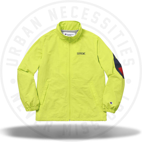Supreme Champion Track Jacket Lime-Urban Necessities