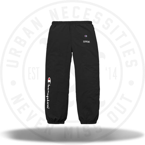 Supreme Champion Track Pant Black-Urban Necessities