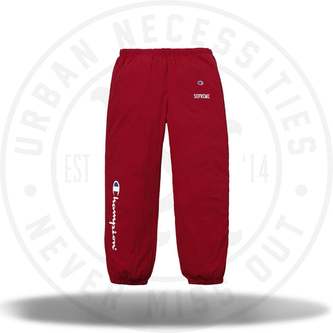 Supreme Champion Track Pant Dark Red-Urban Necessities