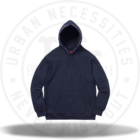 Supreme Channel Hooded Sweatshirt Navy-Urban Necessities