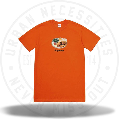 Supreme Chicken Dinner Tee Orange-Urban Necessities