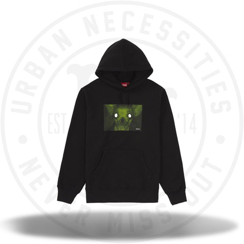 Supreme Chris Cunningham Chihuahua Hooded Sweatshirt Black-Urban Necessities
