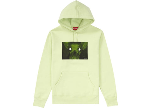 Supreme Chris Cunningham Chihuahua Hooded Sweatshirt Pale Mint-Urban Necessities