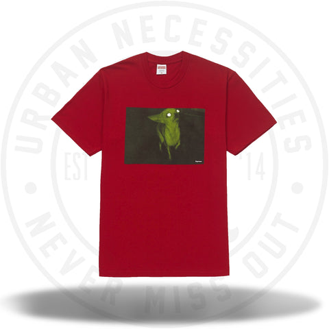 Supreme Chris Cunningham Chihuahua Tee Red-Urban Necessities