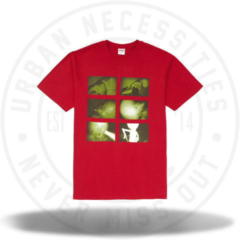 Supreme Chris Cunningham Rubber Johnny Tee Red-Urban Necessities