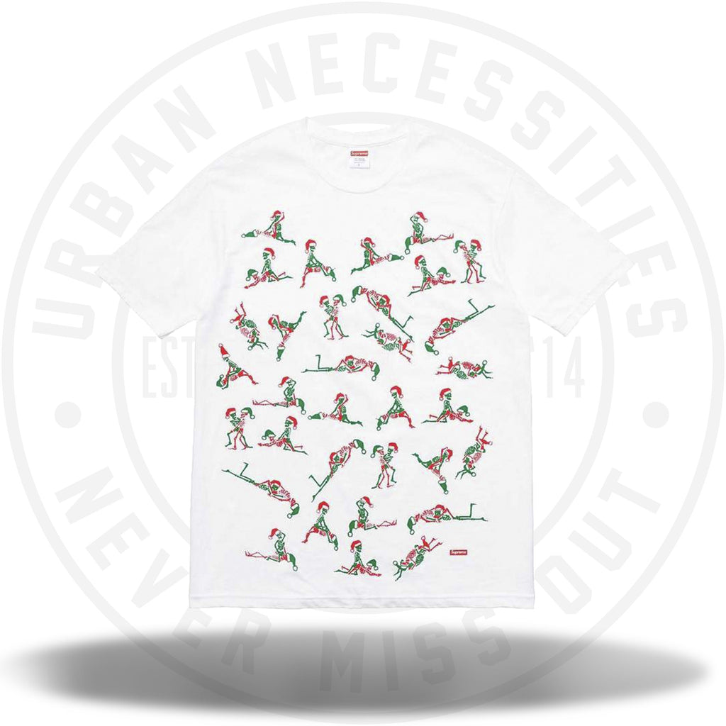 Supreme Christmas Tee White FW17-Urban Necessities
