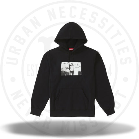 Supreme Classic Ad Hooded Sweatshirt Black-Urban Necessities