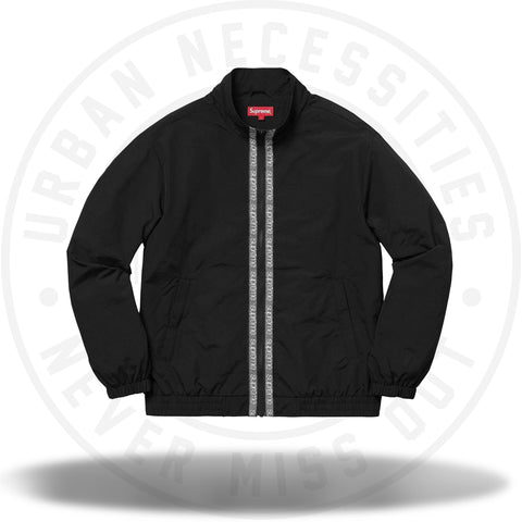 Supreme Classic Logo Taping Track Jacket Black-Urban Necessities