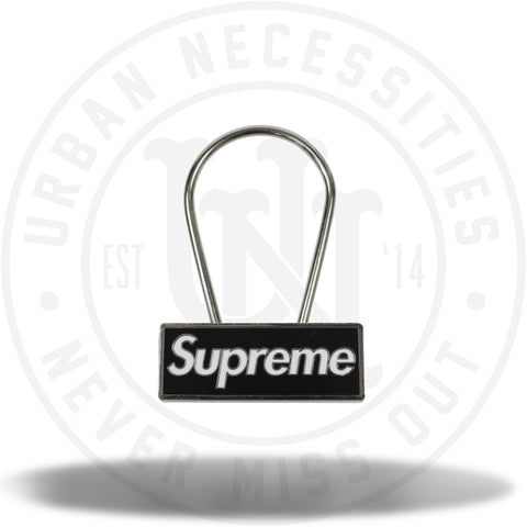 Supreme Clip Keychain Black-Urban Necessities