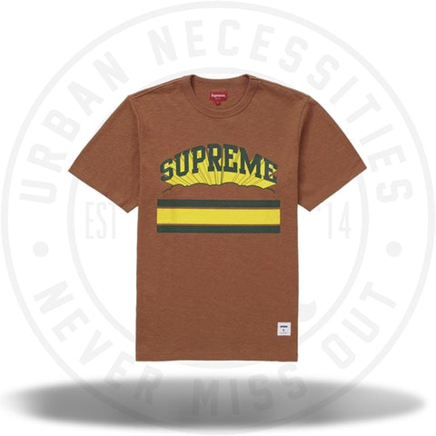 Supreme Cloud Arc Tee Rust-Urban Necessities