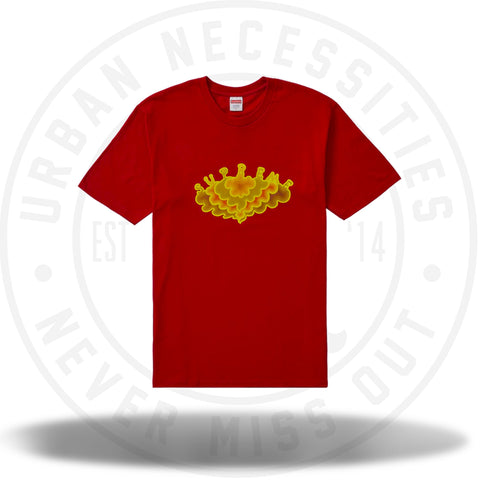 Supreme Cloud Tee Red-Urban Necessities