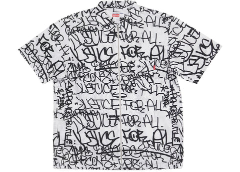 Supreme Comme des Garcons SHIRT Graphic S/S Shirt White-Urban Necessities