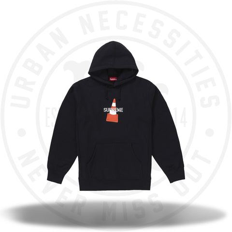 Supreme Cone Hooded Sweatshirt Black-Urban Necessities