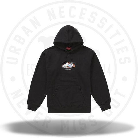 Supreme Cop Car Hooded Sweatshirt Black-Urban Necessities