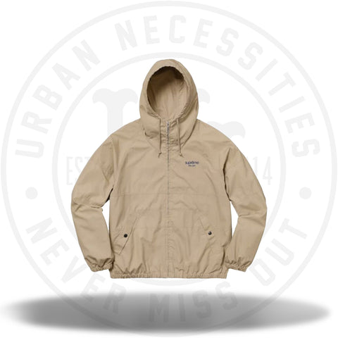 Supreme Cotton Hooded Raglan Jacket Light Khaki-Urban Necessities