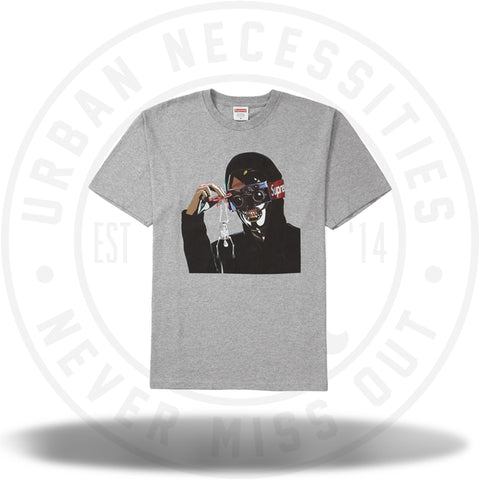 Supreme Creeper Tee Heather Grey-Urban Necessities