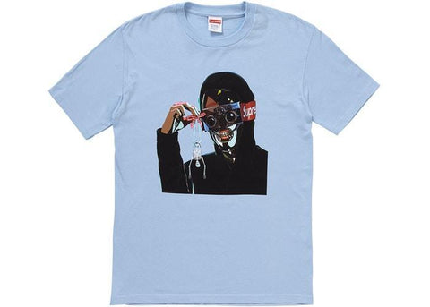 Supreme Creeper Tee Light Blue-Urban Necessities