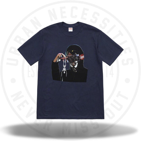 Supreme Creeper Tee Navy SS19-Urban Necessities