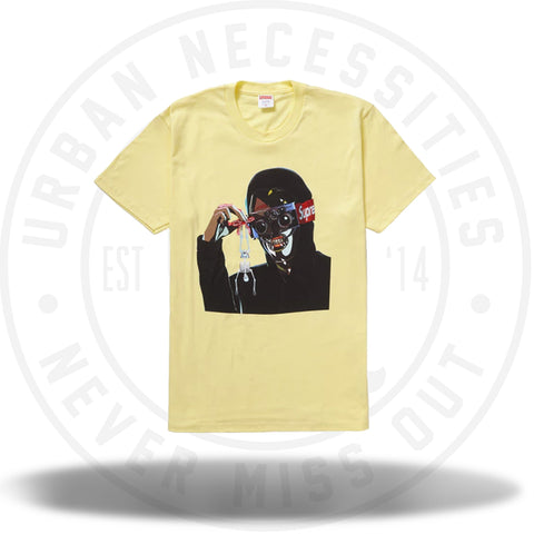 Supreme Creeper Tee Pale Yellow-Urban Necessities