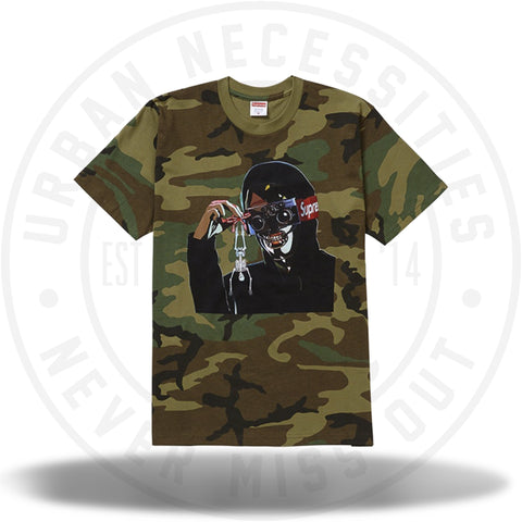 Supreme Creeper Tee Woodland Camo-Urban Necessities