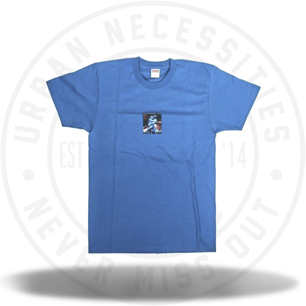 Supreme Cyber Tee Deep Blue-Urban Necessities