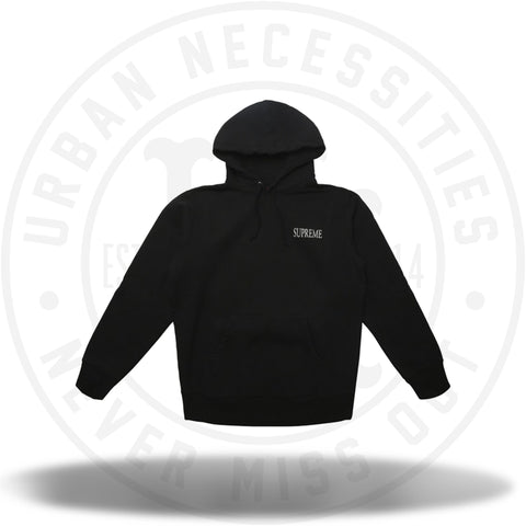 Supreme Decline Hooded Sweatshirt Black-Urban Necessities