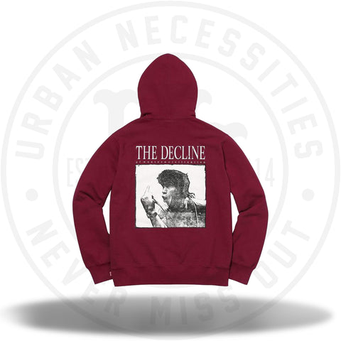 Supreme Decline Hooded Sweatshirt Cardinal-Urban Necessities