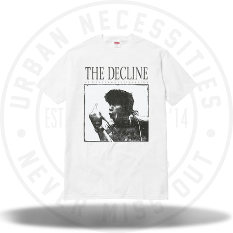 Supreme Decline of Western Civilization Tee White-Urban Necessities