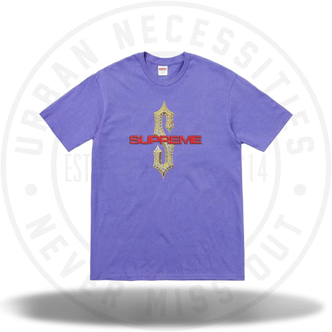 Supreme Diamonds Tee Light Purple-Urban Necessities