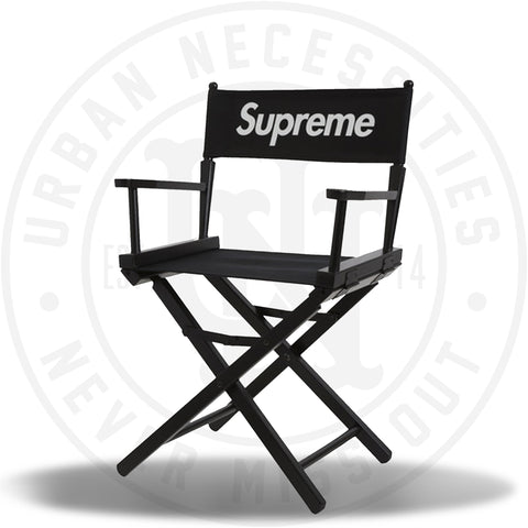 Supreme Director Chair - Black SS19-Urban Necessities