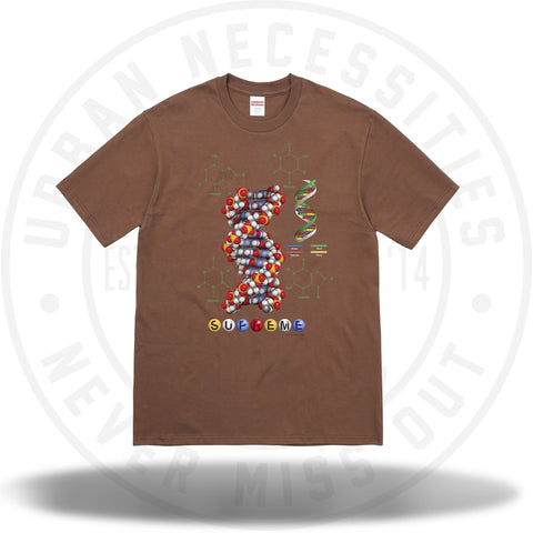 Supreme DNA Tee Brown-Urban Necessities