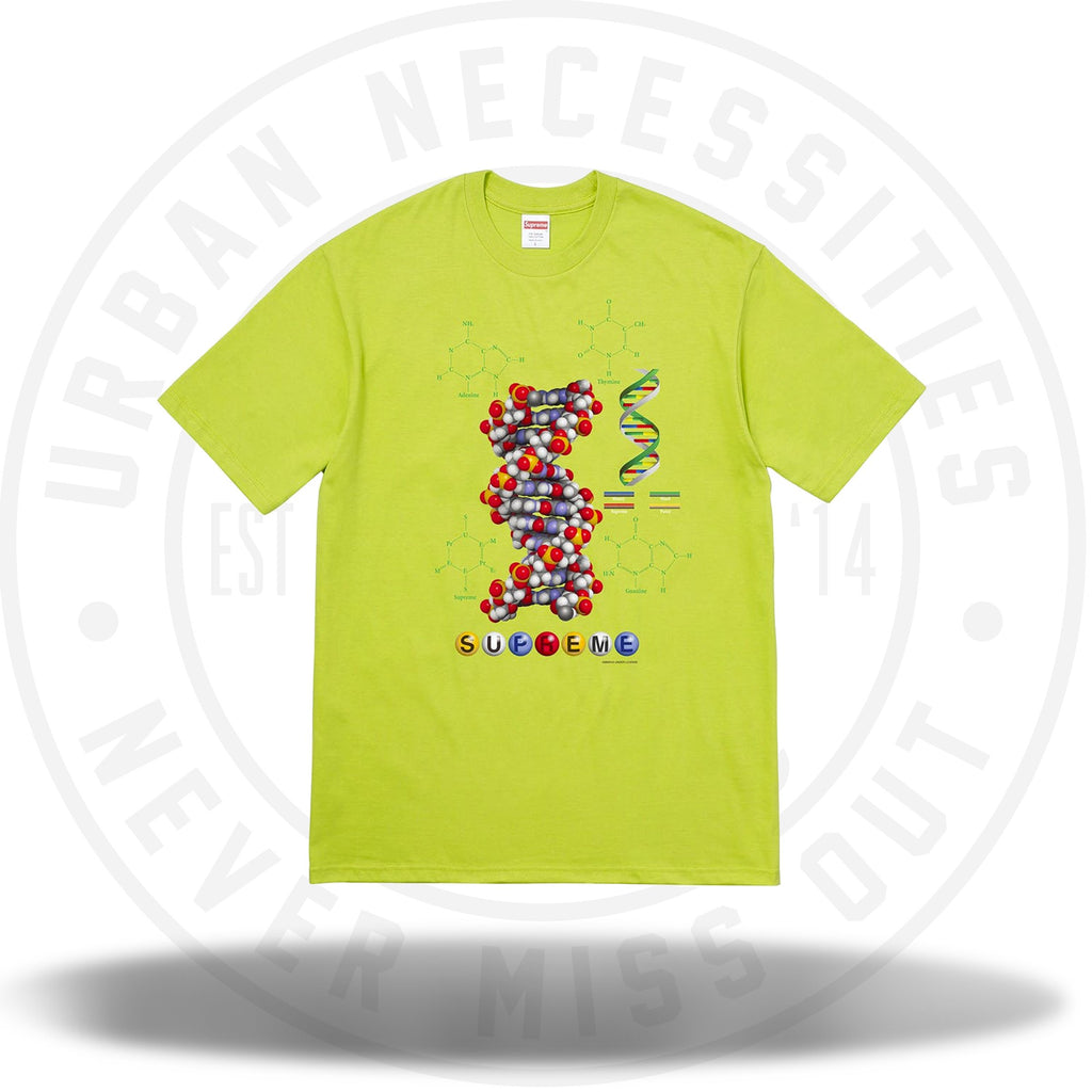 Supreme DNA Tee Lime-Urban Necessities