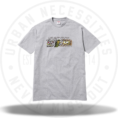 Supreme Dog Shit Tee Grey-Urban Necessities