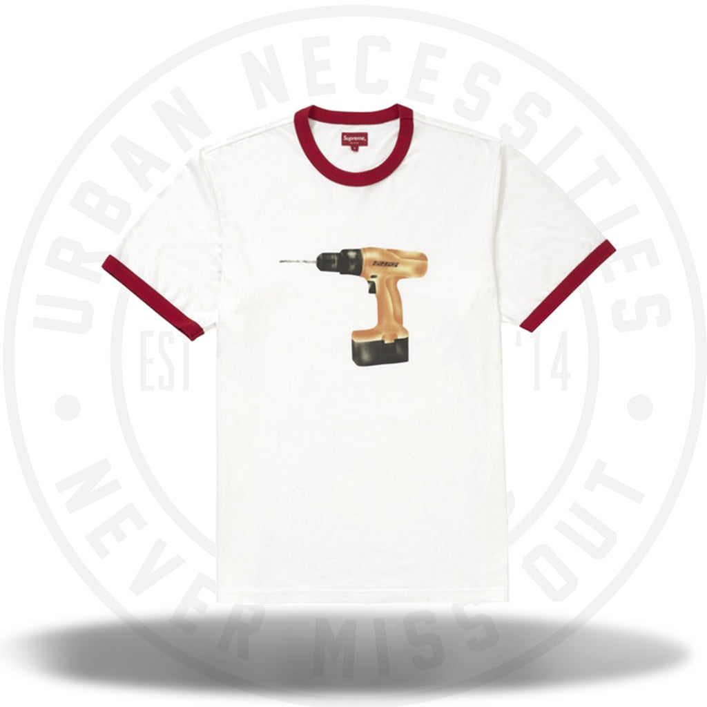Supreme Drill Ringer Red-Urban Necessities