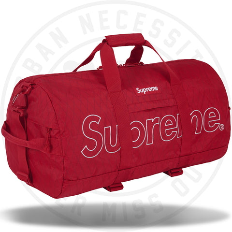 Supreme Duffle Bag (FW18) Red-Urban Necessities