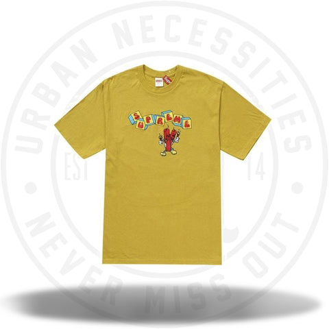 Supreme Dynamite Tee Acid Yellow-Urban Necessities