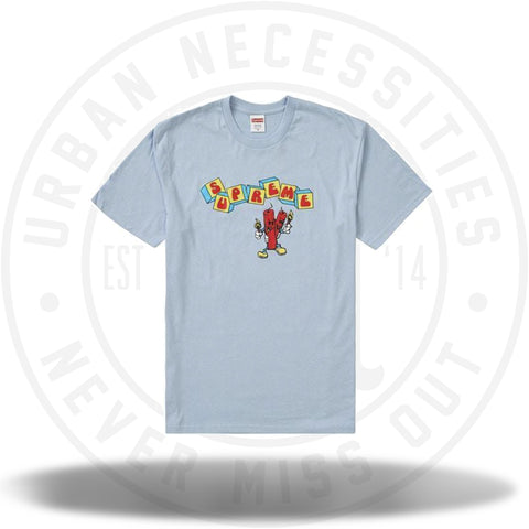 Supreme Dynamite Tee Light Blue-Urban Necessities