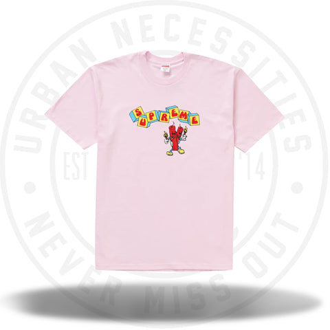 Supreme Dynamite Tee Light Pink-Urban Necessities