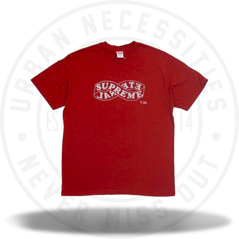 Supreme Eternal Tee (FW18) Red-Urban Necessities