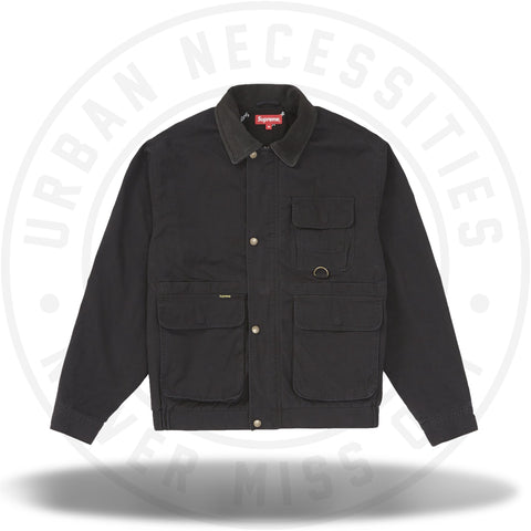 Supreme Field Jacket Black-Urban Necessities