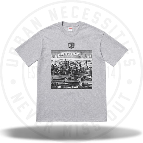 Supreme Fiorenza Tee Heather Grey-Urban Necessities