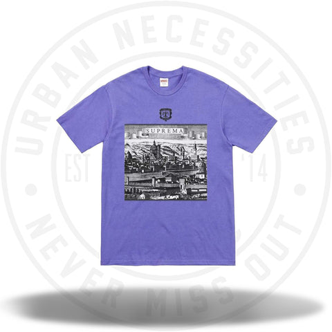 Supreme Fiorenza Tee Light Purple-Urban Necessities