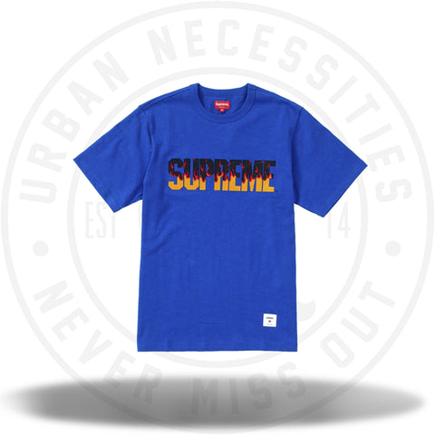 Supreme Flames S/S Top Royal-Urban Necessities