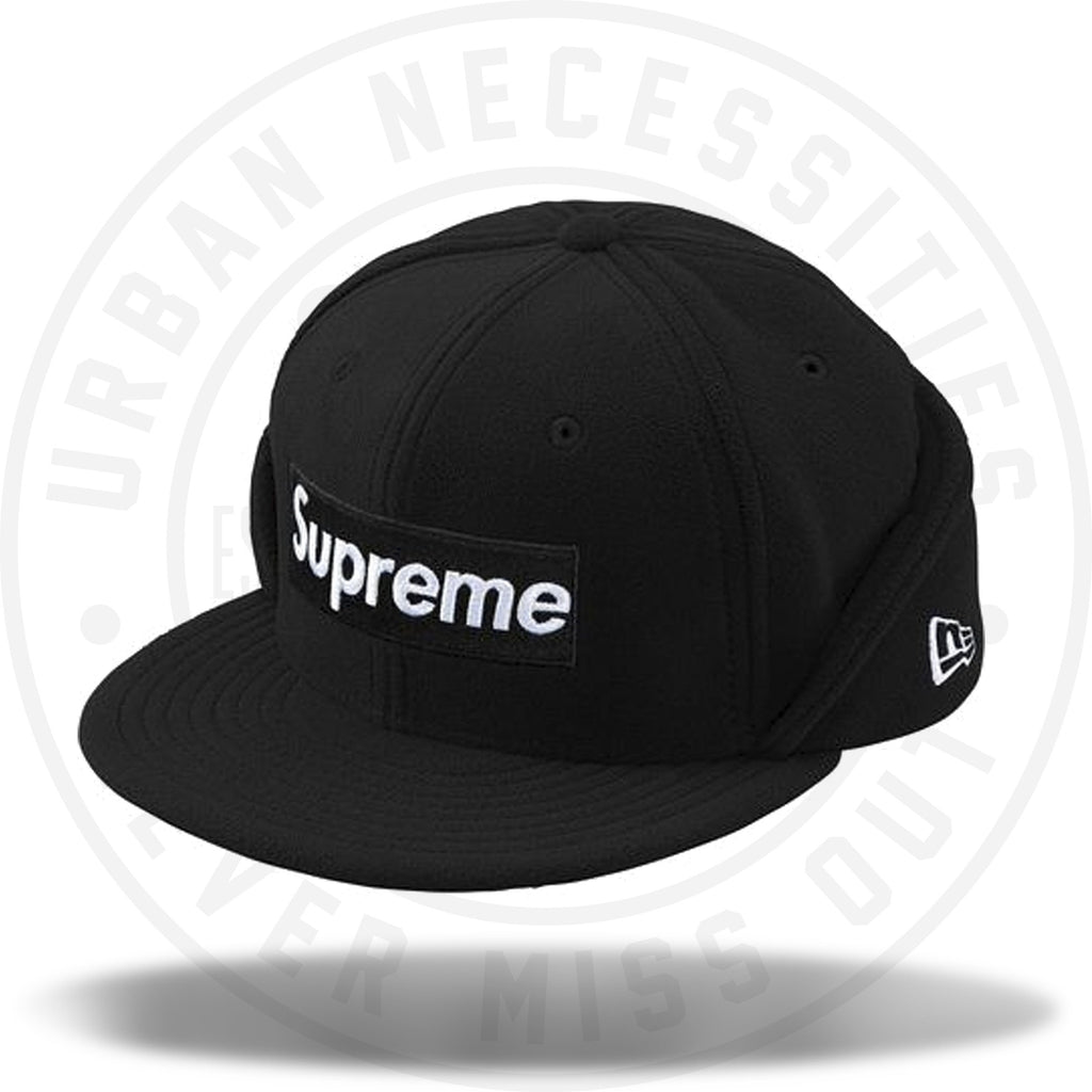 Supreme Fleece Ear Camp Cap-Urban Necessities