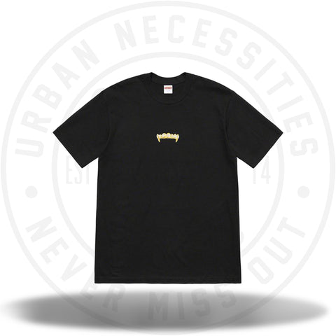 Supreme Fronts Tee Black SS19-Urban Necessities
