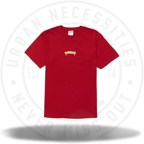 Supreme Fronts Tee Red-Urban Necessities