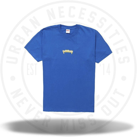 Supreme Fronts Tee Royal SS19-Urban Necessities