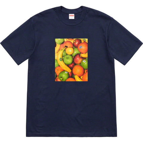 Supreme Fruit Tee Navy SS19-Urban Necessities