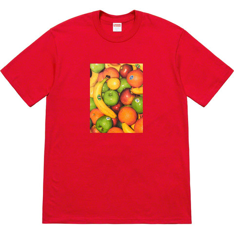 Supreme Fruit Tee Red SS19-Urban Necessities