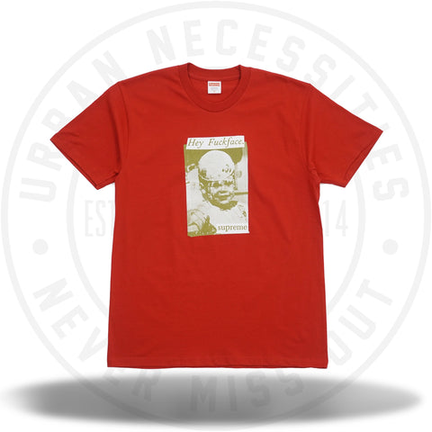 Supreme Fuck Face Tee Red-Urban Necessities
